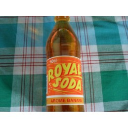 Royal soda banane 50cl