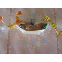 Barquette bonbons divers 25g