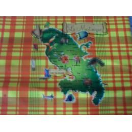 Nappe carte Martinique