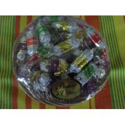 Sachet de bonbons jamincaramel/chocolat 250g