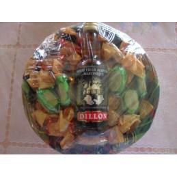 Panier bonbons au rhum + mignonnette 384g
