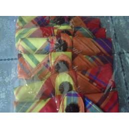 Serviettes tissus madras