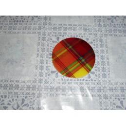 Sous-verre céramique madras