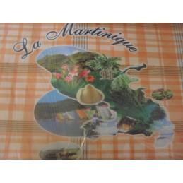 Set de table carte Mque