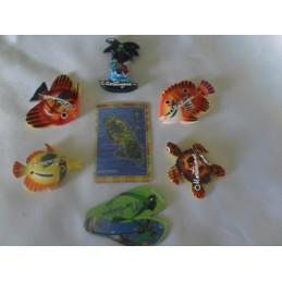 Lot de 7 magnets