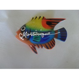 Magnet Martinique commune 14g