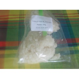 Tablettes coco blanches 140g