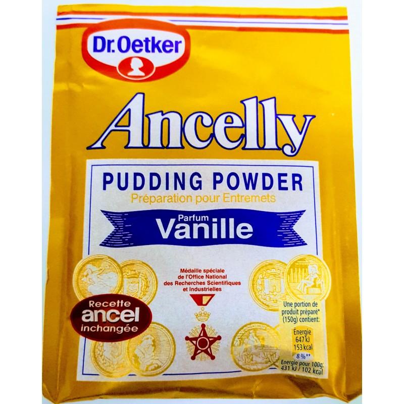 Crème en poudre vanille ancelly 160g