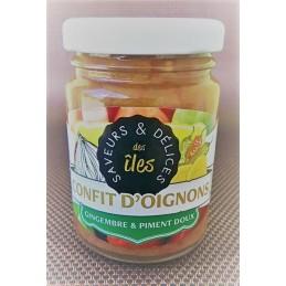 Confit d'oignons au gingembre et piment fort