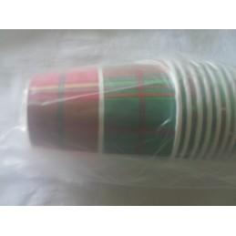 Gobelets carton madras