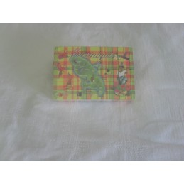 Jeux de 54 cartes madras Mque