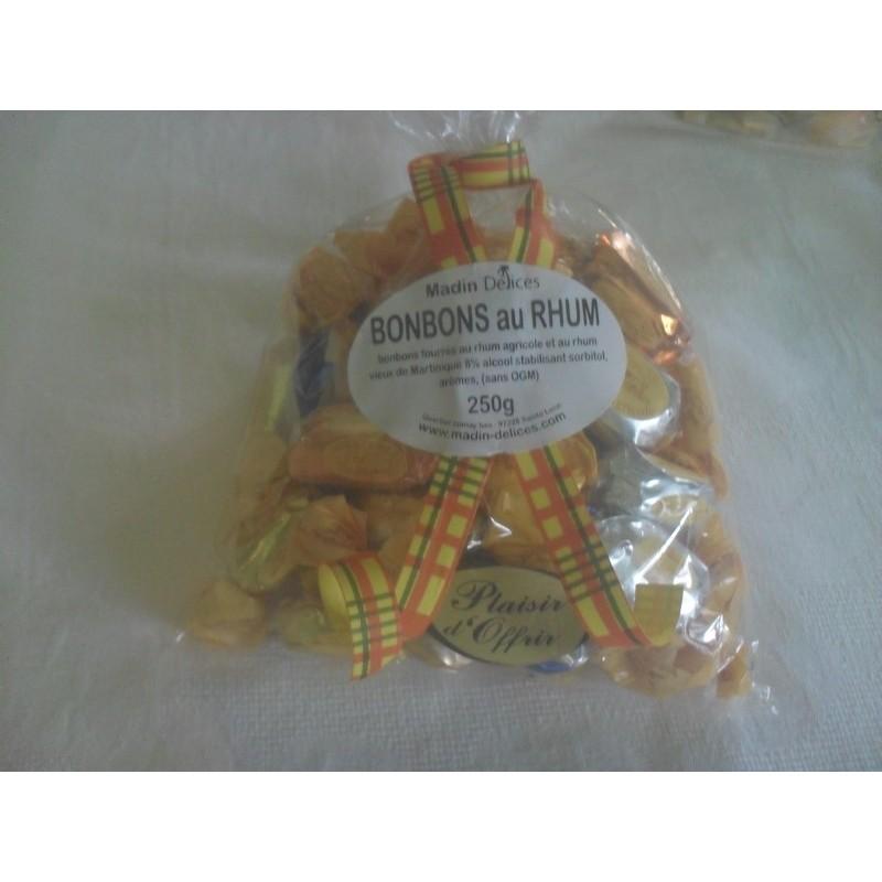 Bonbons au rhum agricole parfum (Ananas, ti punch, schrub, Pinacolada)