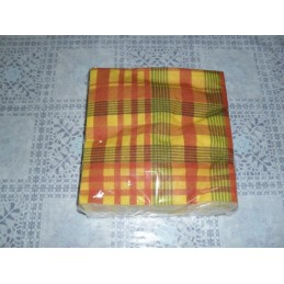 Serviettes en papier madras
