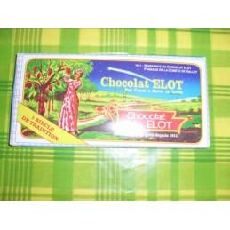 Lot de 3 chocolat Elot 100g